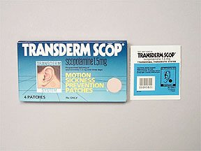 Transderm-Scop 1.5 Mg Patches 4 By Savage Labs