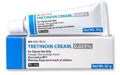 Tretinoin .025% Cream 1X20 Gm Mfg. By Perrigo Pharm Clay Park Rx