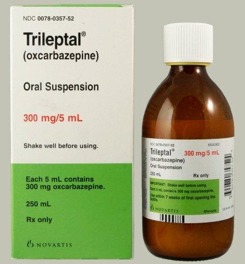 Trileptal 300 Mg/5Ml Suspension 250 Ml By Novartis Pharma