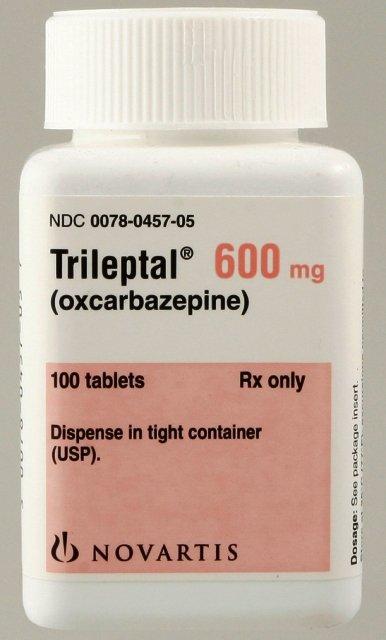 Trileptal 600 Mg Tabs 100 By Novartis Pharma