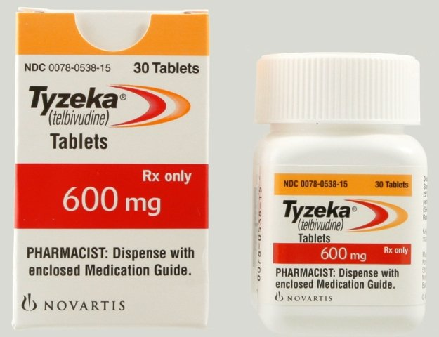 Tyzeka 600 Mg Tabs 30 By Novartis Pharma