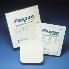 Bertek Flexzan 4'' X 8'' Topical Wound Dressing 5 Each Box