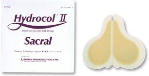 Bertek Hydrocol Hydrocolloid Sacral 6''X7'' 5 Each Box