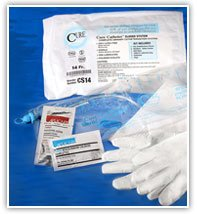 Cure Medical Catheter 08Fr Closed System Single 100 Each Box