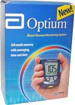 Medisense Optium Blood Glucose Monitoring Kit 1 Each Case