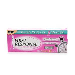 First Response Rapid Result Pregnancy Test