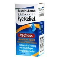 Bausch & Lomb Advance Maximum Red Eye Relief Red Drop 15 Ml