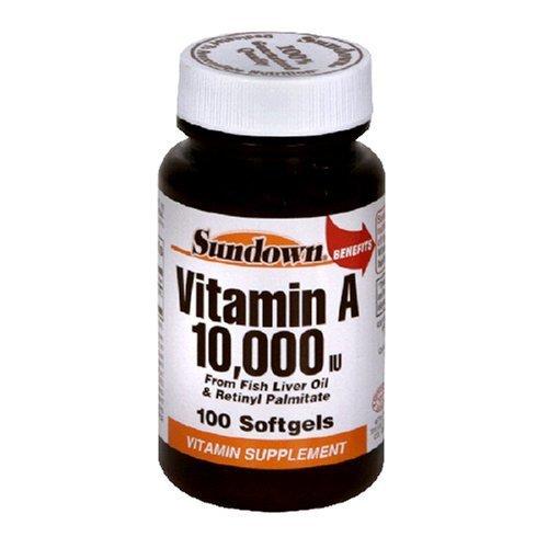 Sundown - A 10000 Units Softgels 100