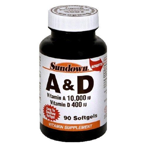 Sundown - A 10000 Units D 400 Units Softgels 90
