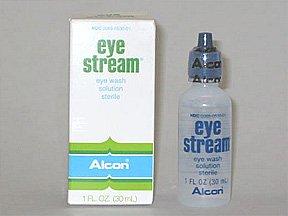 Eye Stream Irrigating Eye Rinse Solution 1 OZ