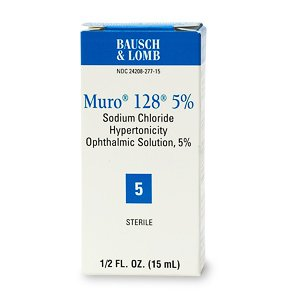 Muro 128 Corneal 5 % Edema Drop 15 Ml