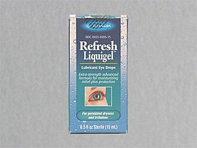 Refresh Liquigel Dry Eye Drop 15 Ml