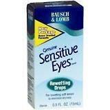 Bausch & Lomb Sensitive Eyes Rewetting Drop 15 Ml