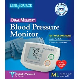 Blood Pressure Dual Memory 1 Ct By A & D Medical