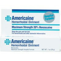 Image 0 of Americaine Hemorrhoidal Ointment Maximum Strength 1 Oz