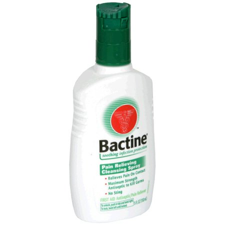 Bactine Pain Relieving Cleansing Spray 5 Oz (147 Ml)