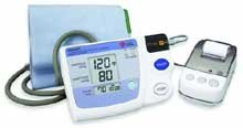 Image 0 of Automatic Inflation Blood Pressure Monitor With Printer, Graph Feature, Intellis
