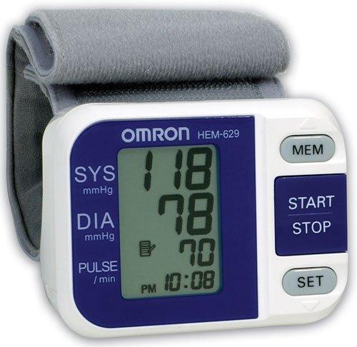 Image 0 of Blood Pressure Monitor Digital Wrist 1 Each Mfg. By Omron Healthcare