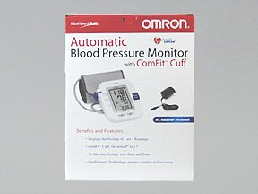Image 0 of Blood Pressure Monitor Digital With Cuff 1 Each Mfg. By Omron Healthcare