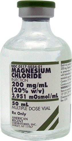 magnesium chloride dose