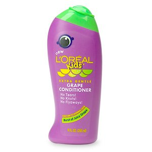 Loreal Kids For Thin To Normal Hair Grape Conditioner 9 Oz