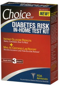 Choice Diabetes Home Test Kit 1x1 Each By Health Care Products