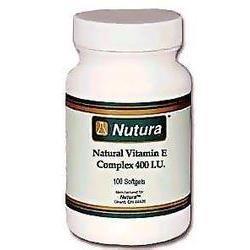 Natural Vitamin E - 400 Units Soft Gel