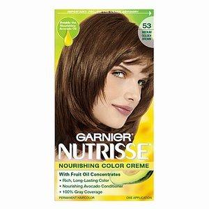 Garnier Fructis Permanent Hair Color 53 Medium Golden Brown | Personal