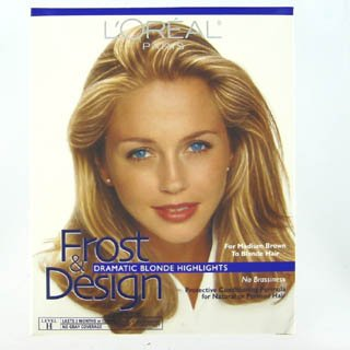 Loreal Permanent Hair Color Frost Design Highlights Kit