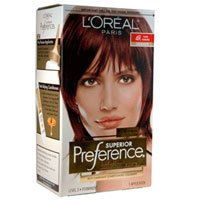 Hair Care - Loreal - Loreal Preference Dark Auburn #4R Hair Color
