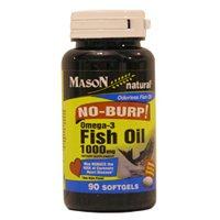 Image 0 of Omega-3 Fish Oil 1000mg No Burp Softgel 90 Each Mfg. By Mason Vitamins