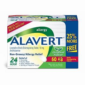 Alavert 24 Hour Quick Dissolve 60 Tablet