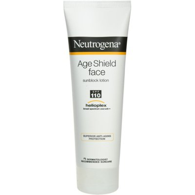 Neutrogena Age Sheld Face Sunblock SPF 110 Lotion 3 Oz