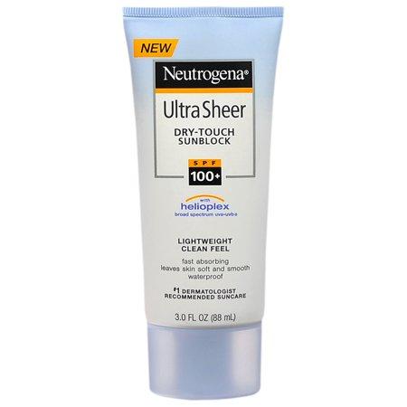 Neutrogena Ultra Sheer Dry SPF 100 Lotion 3 Oz