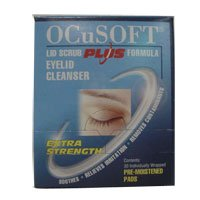 Ocusoft Eye Lid Scrub Plus Pad 30 Ct.
