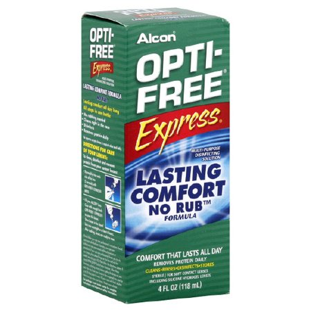Alcon Opti-Free Express No Rub Multi-Purpose 4 oz