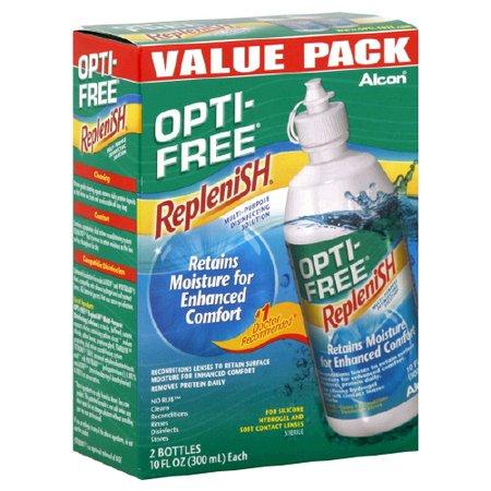 Image 0 of Alcon Opti-Free Replenish Multipurpose 2x10 Ml
