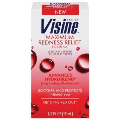 Visine Maximum Redness Relief Drop 15 Ml
