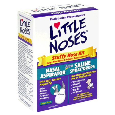 Image 0 of Little Noses Stuff Nose Kit With Aspirator
