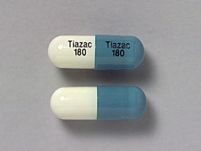 Tiazac 180 mg Capsules 1X30 Mfg. By Forest Pharmaceuticals