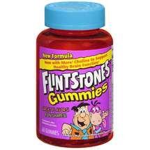 Flintstones Childrens Gummies 60 Each