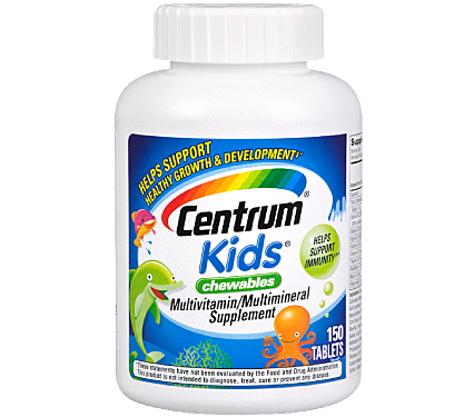 Centrum Kids Complete Multivitamins Chewable Tablets 150