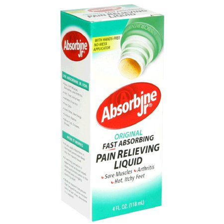 Image 0 of Absorbine Jr Plus Pain Relief Liquid 4 oz