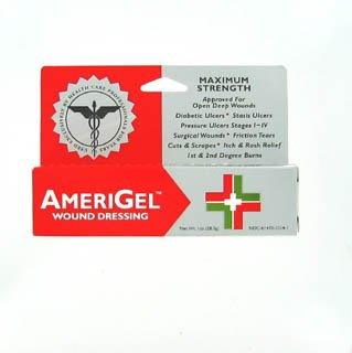 Amerigel Wound Dressing Ointment 1 Oz
