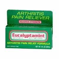 Eucalyptamint Arthritis Pain Relief Ointment 2 oz