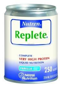 Replete Nutren Complete Nutrition Vanilla Flavor Liquid 24X250 ml