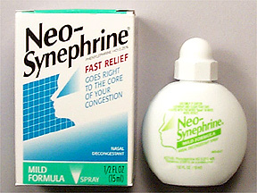 Image 0 of Neo-Synephrine Mild Spray 15 Ml