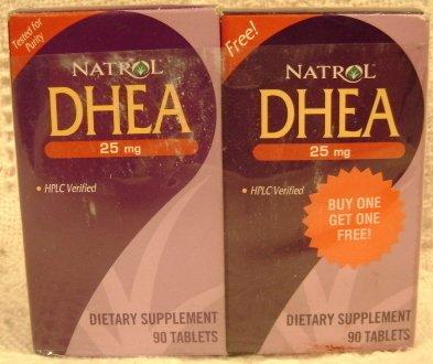Natrol Dhea 25 Mg 90 Tablet