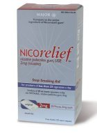 Image 0 of Nicorelief 4 Mg Mint Gum 50 Ct