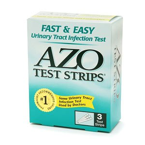 Image 0 of Azo Test Urinary Infection Test Strips 3 Ct.
